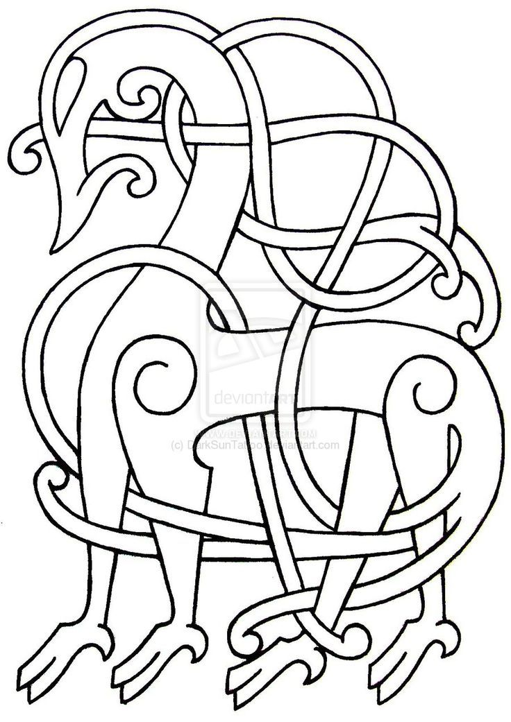 Drawn viking simple Patterns 1000+ best 13 about