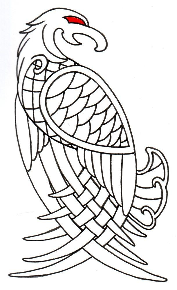 Drawn viking simple #4