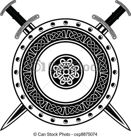 Drawn viking vector Of of csp8875074 Vector of