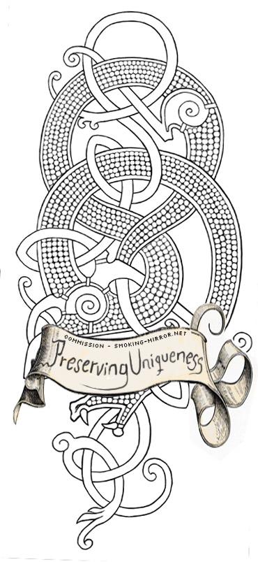 Drawn viking viking dragon On dragon Devilry by Tattoo