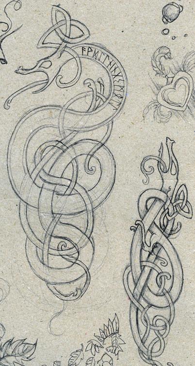 Drawn viking viking dragon By  dragons inspirations on