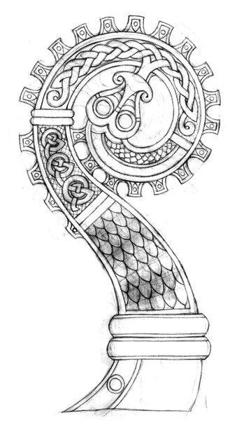 Drawn viking viking dragon Pinterest ideas Best ship Viking