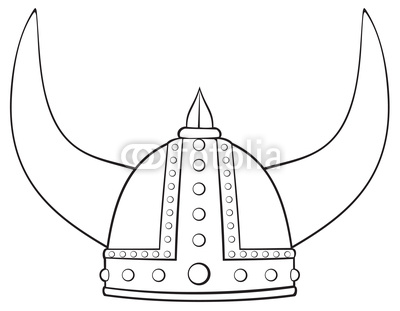 Drawn viking viking hat Art Viking  viking Vector