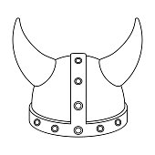 Drawn viking viking hat Viking Download outline Viking (Page