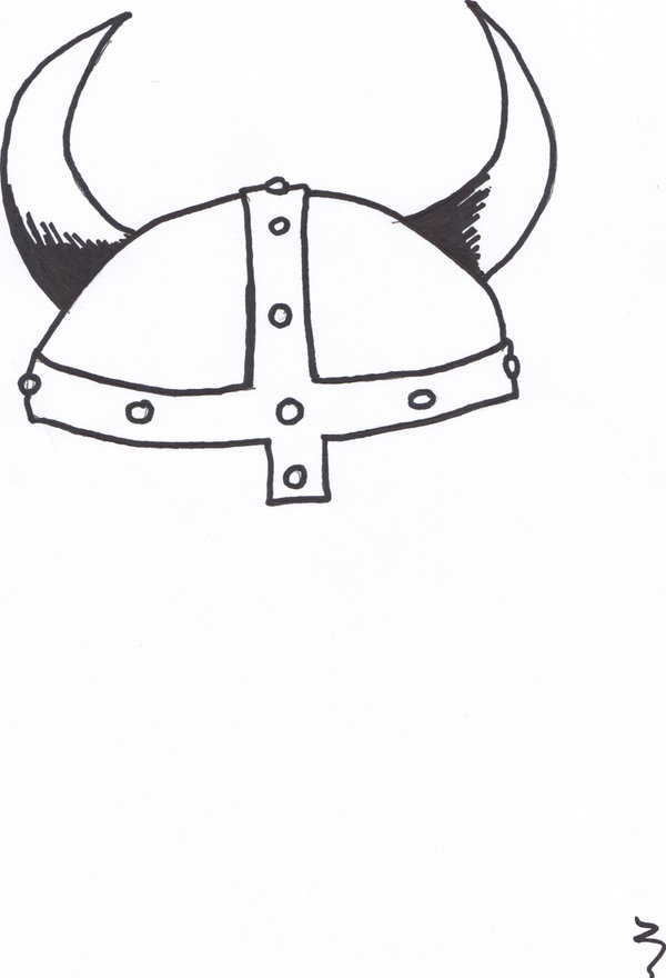 Drawn viking viking hat Viking DeviantArt Viking Hat by