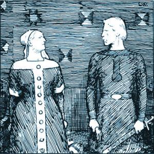 Drawn viking viking man To The women ScienceNordic way