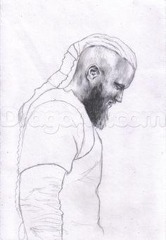 Drawn viking viking man How how Pinterest  draw
