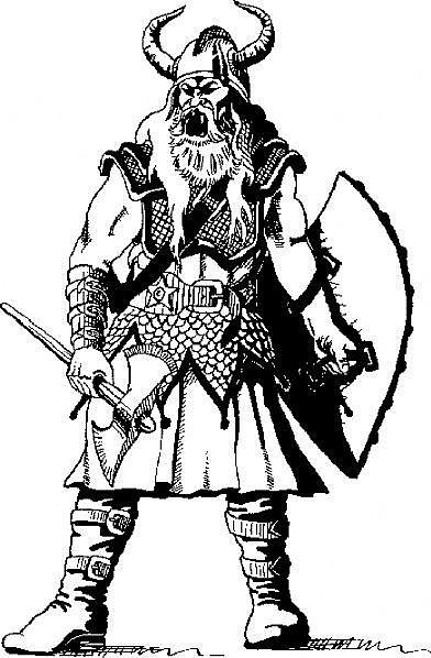 Drawn viking viking man  Vikings vikingové obrázku pro