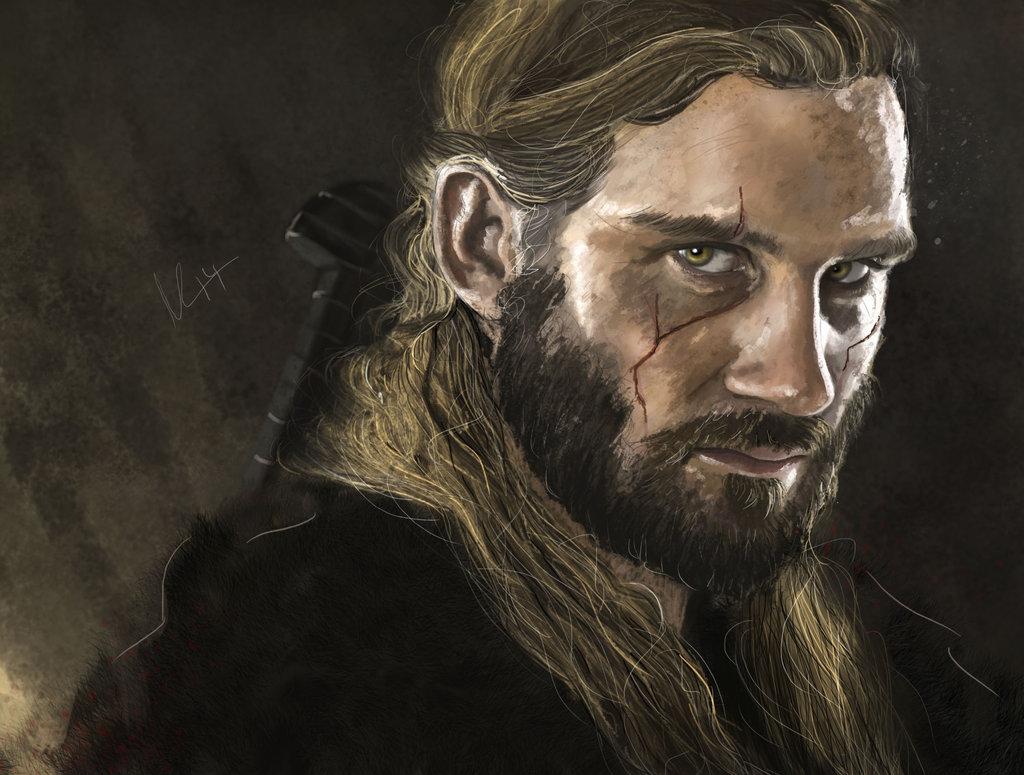 Drawn viking viking man Rollo Find by deviantart on