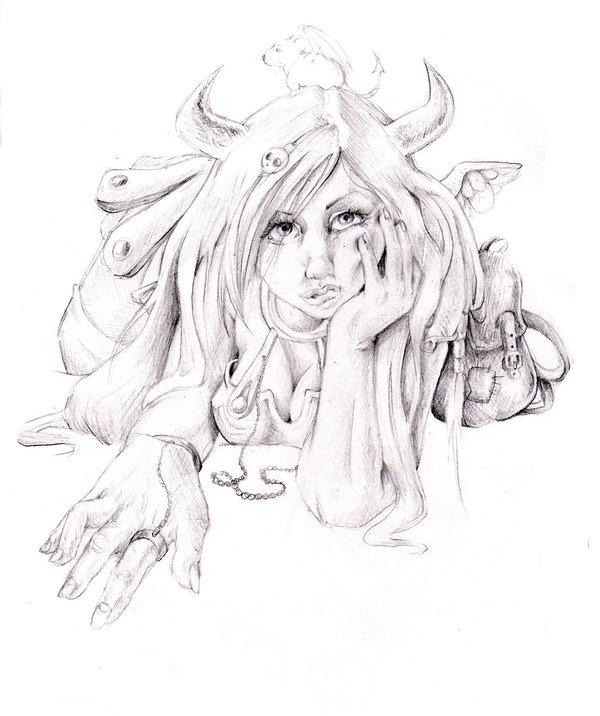 Drawn viking viking woman DeviantArt by on Woman Woman