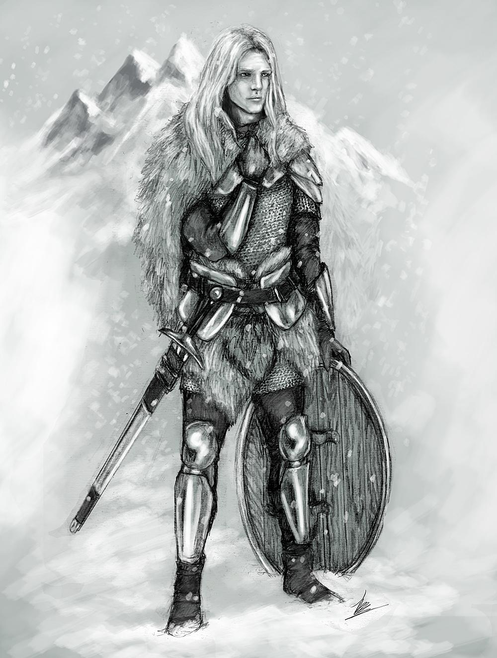 Drawn viking viking woman @deviantART  deviantart on tansy9