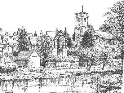 Drawn village #10
