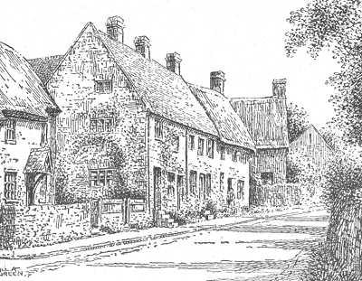 Drawn village #12
