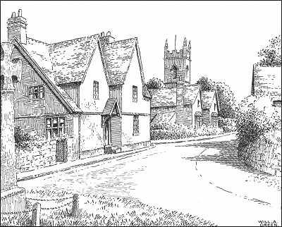 Drawn village #7