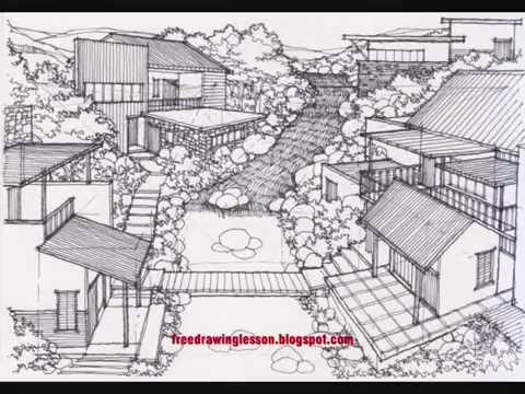 Drawn scenery anime Scenery a to to draw