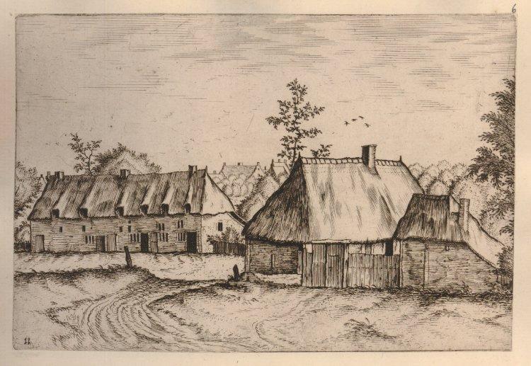 Drawn village small #1