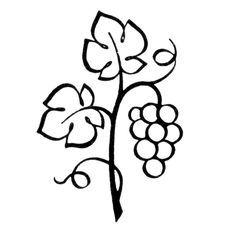 Drawn vine artistic #15