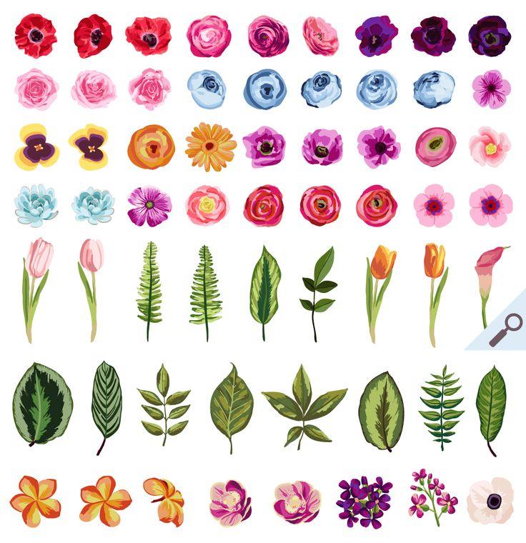 Drawn vintage flower cute Flowers 20+ Wall Flower ideas