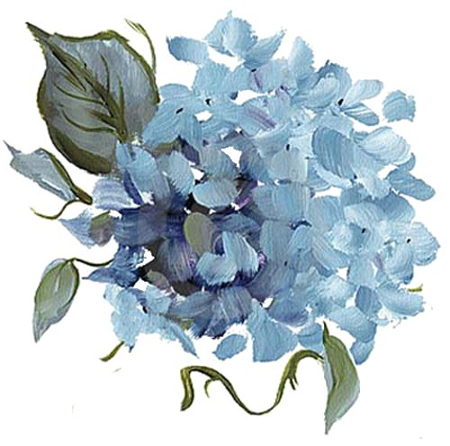 Drawn vintage flower 201 PNG Printables Pinterest Hydrangea