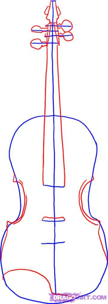 Drawn instrument violin To Step Musical  String