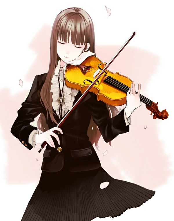 Drawn violin cartoon Female Find more Characters a