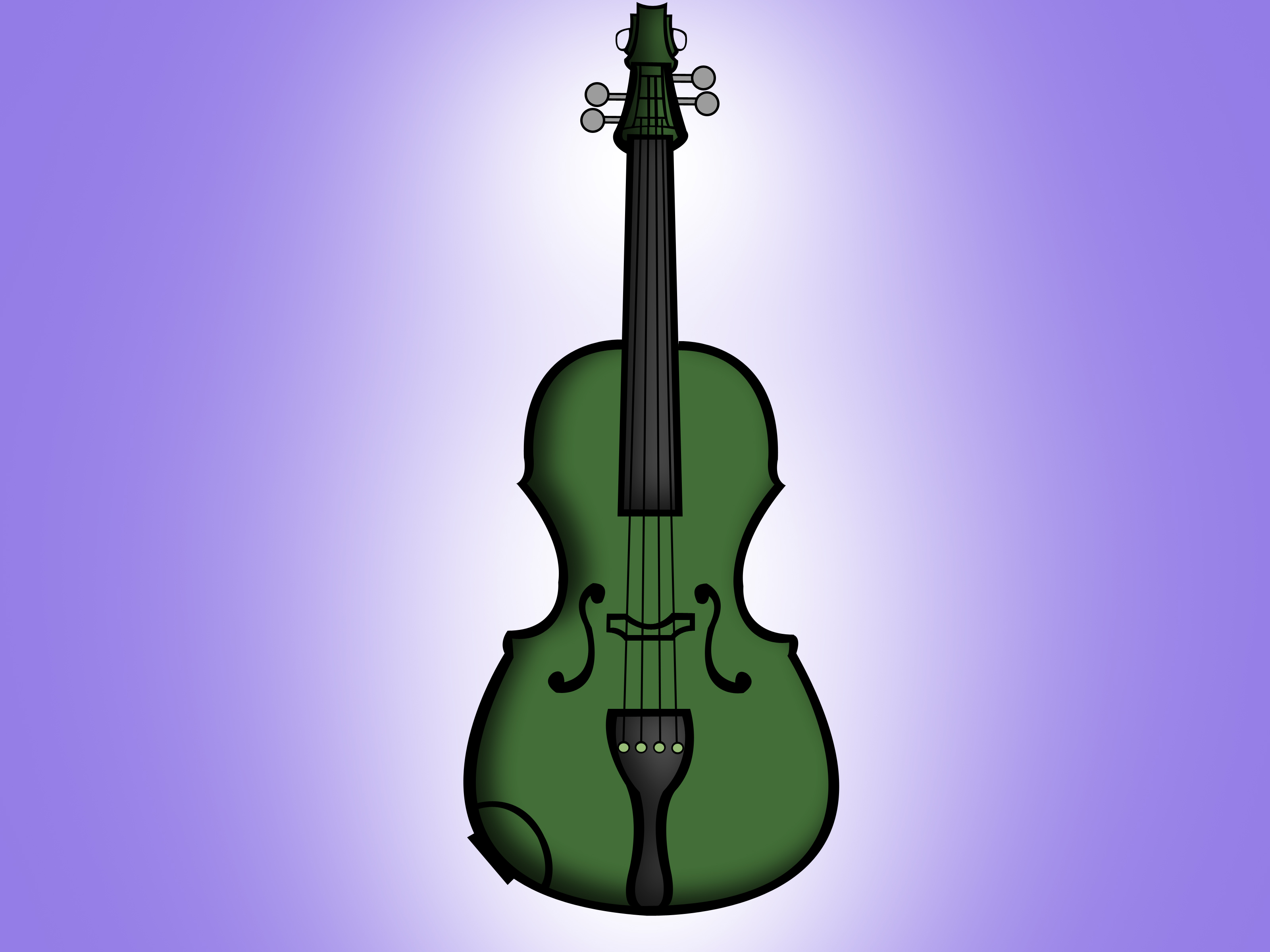 Drawn violin color Draw 15 to wikiHow Steps