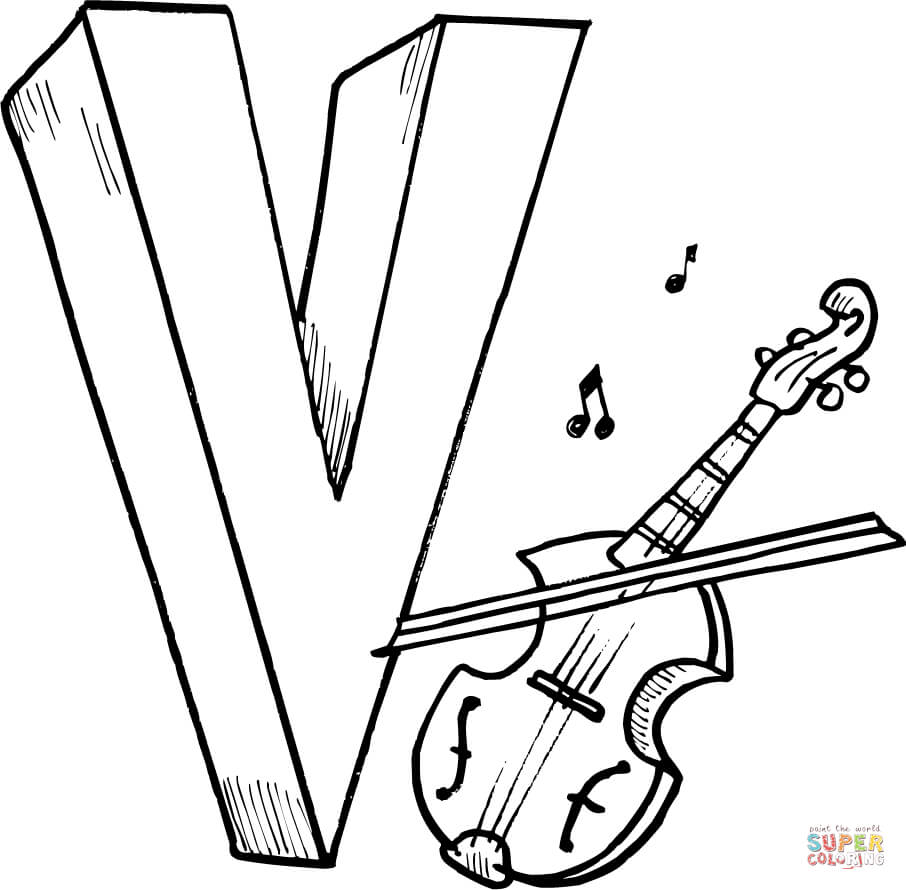 Drawn violinist coloring page For Free Coloring page Violin