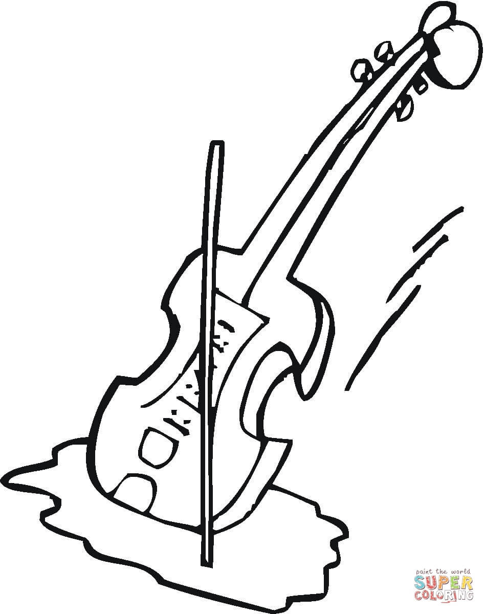 Drawn violinist coloring page Pages Coloring coloring page Violin