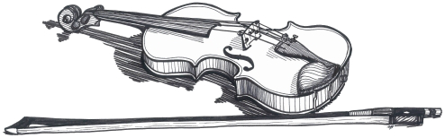 Drawn violinist doodle Cynthia by and Instruction Violin