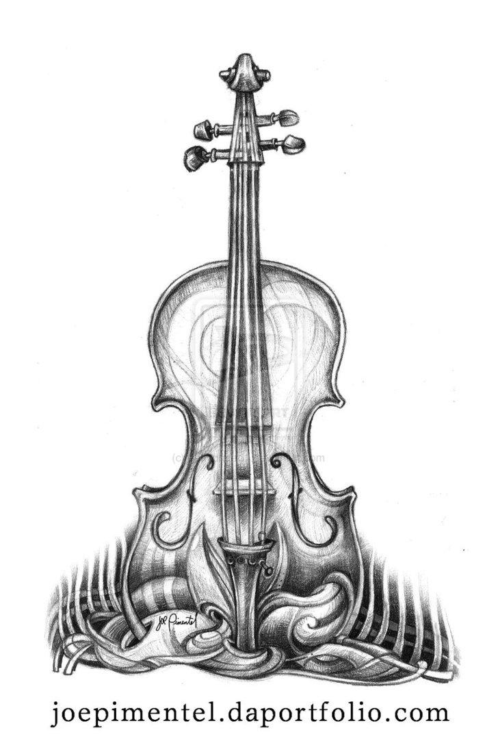 Drawn violinist fiddle Violin Drawing Art Drawing Art