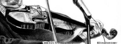 Drawn violinist realistic Realistic Violin Violin Drawings Drawing