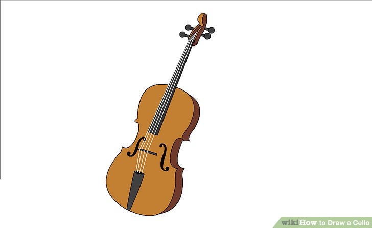 Drawn violin string instrument Draw Intro Pictures) wikiHow How