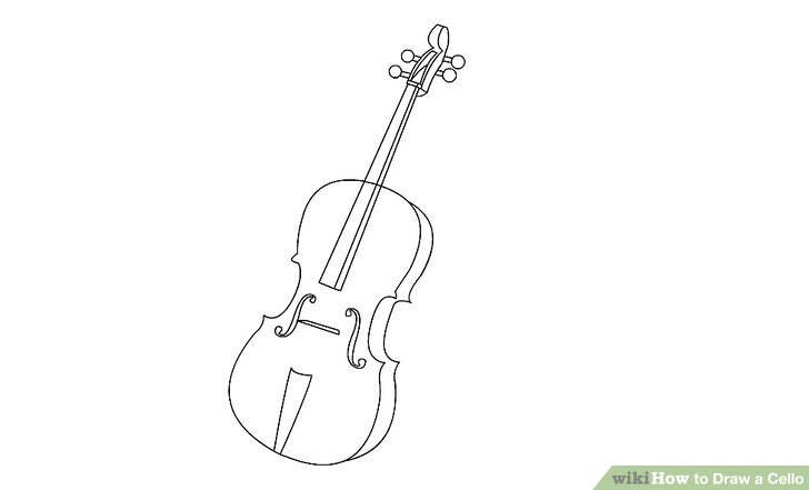 Drawn violin string instrument To Step wikiHow (with Pictures)