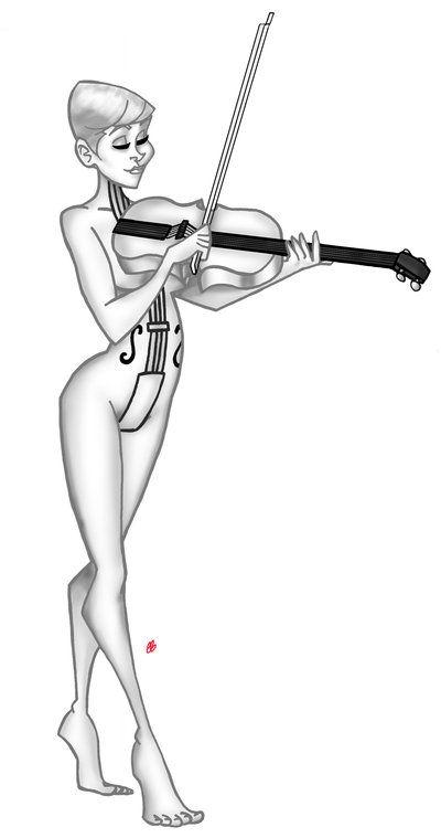 Drawn violinist umbrella academy DeviantArt Hargreeves Academy; Academy images