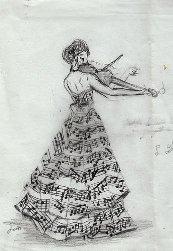 Drawn musician dress tumblr Best drawings ideas Pinterest 20+