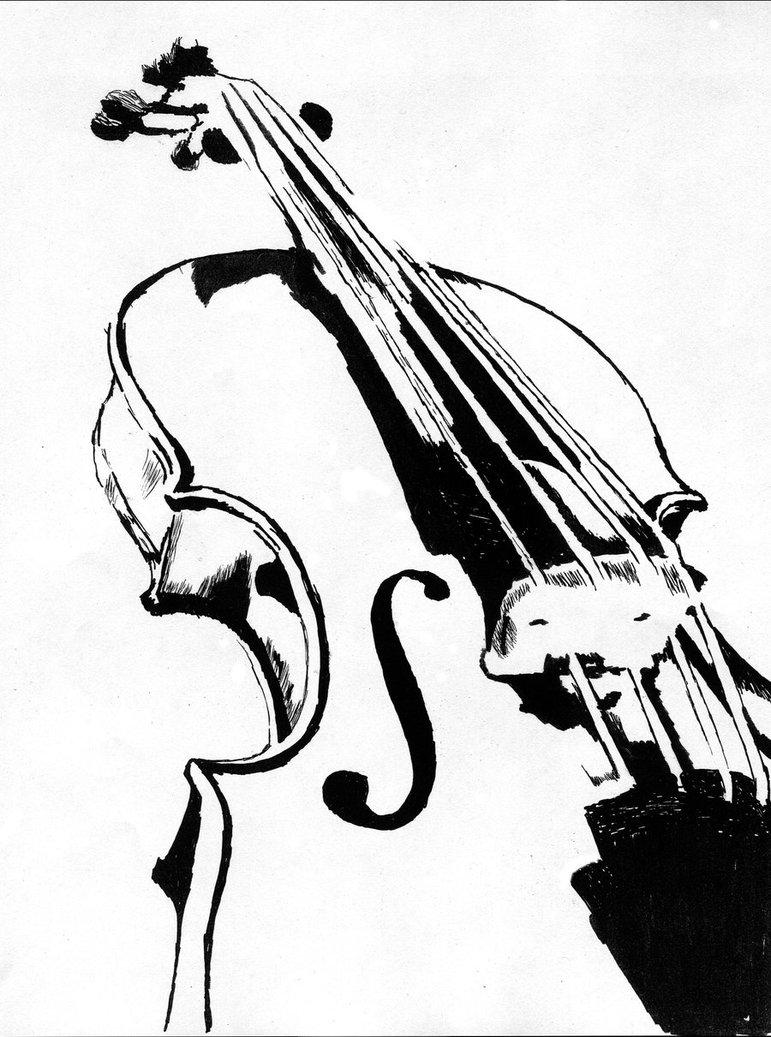 """Drawn violinist Képtalálat következőre: draw """"hangszerek Hangszerek"""