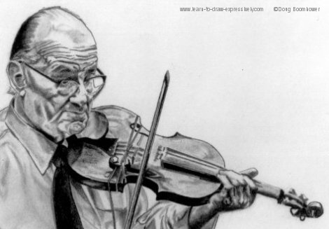 Drawn music violin playing Violin Venuti Violin Drawings drawings
