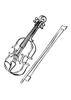 Drawn violinist color Violin Draw Pinterest To