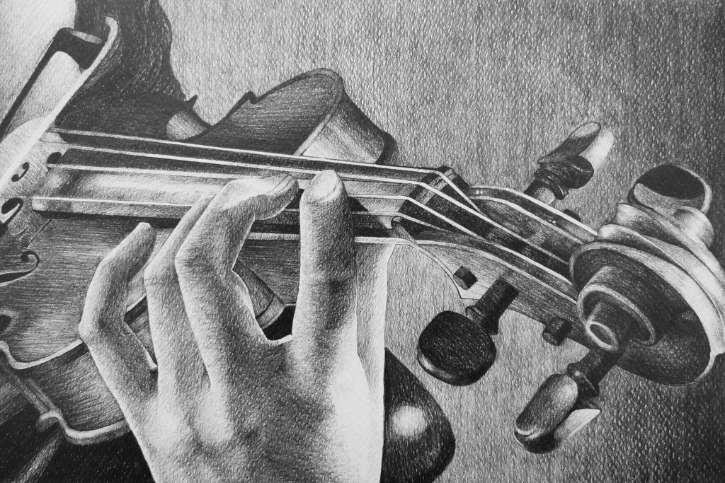 Drawn violinist fiddle Violin Violin by DeviantArt 2