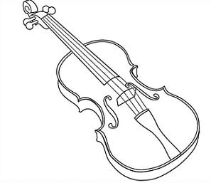 Drawn violinist simple Easytoon Violin Car Violin Car