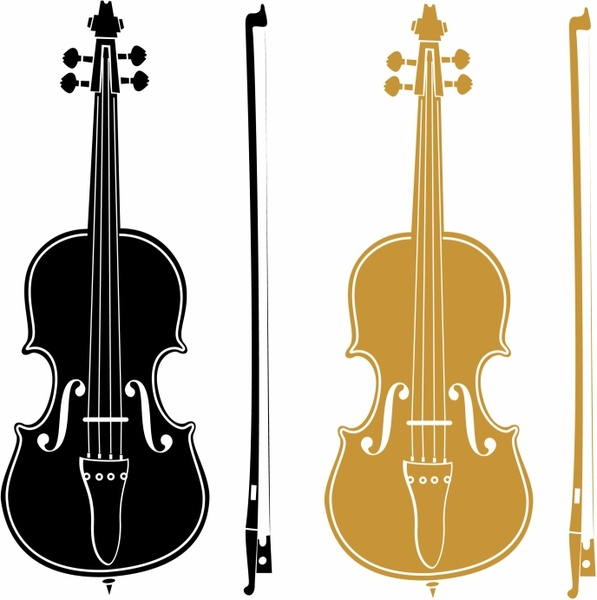 Drawn violinist vector Free commercial download vector for