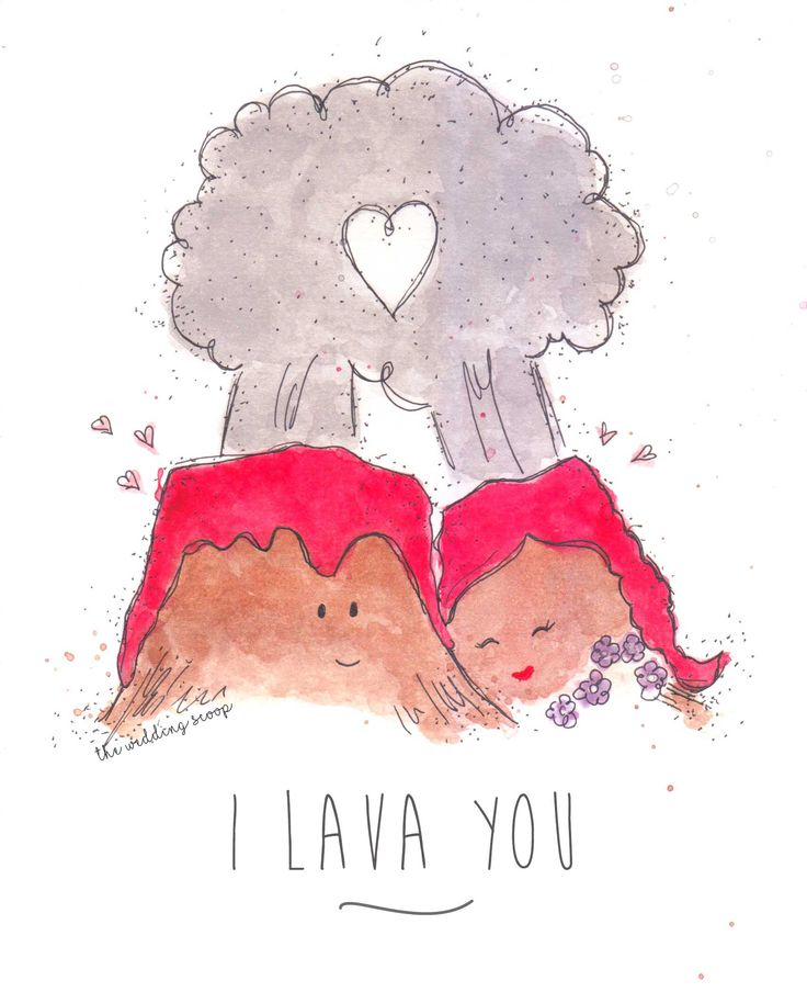Drawn volcano cute Cute Inspired film lava short