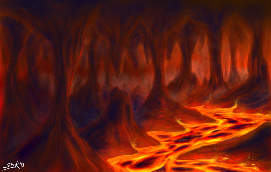 Drawn volcano lava Pinterest Lava Cave on Lava