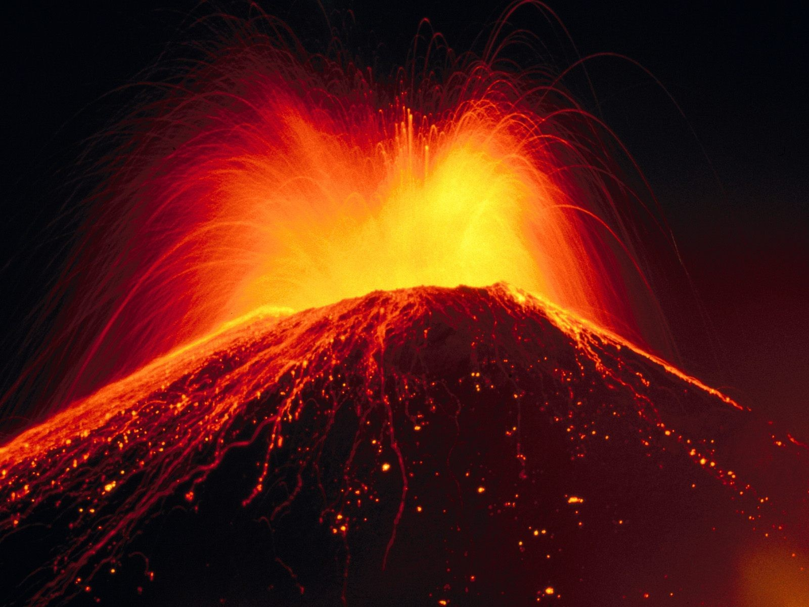 Drawn volcano lava Volcano wallpaper  Volcano Drawing