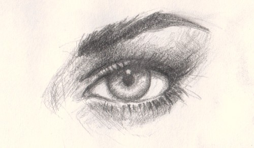 Drawn volcano realistic 12 drawing online eye to