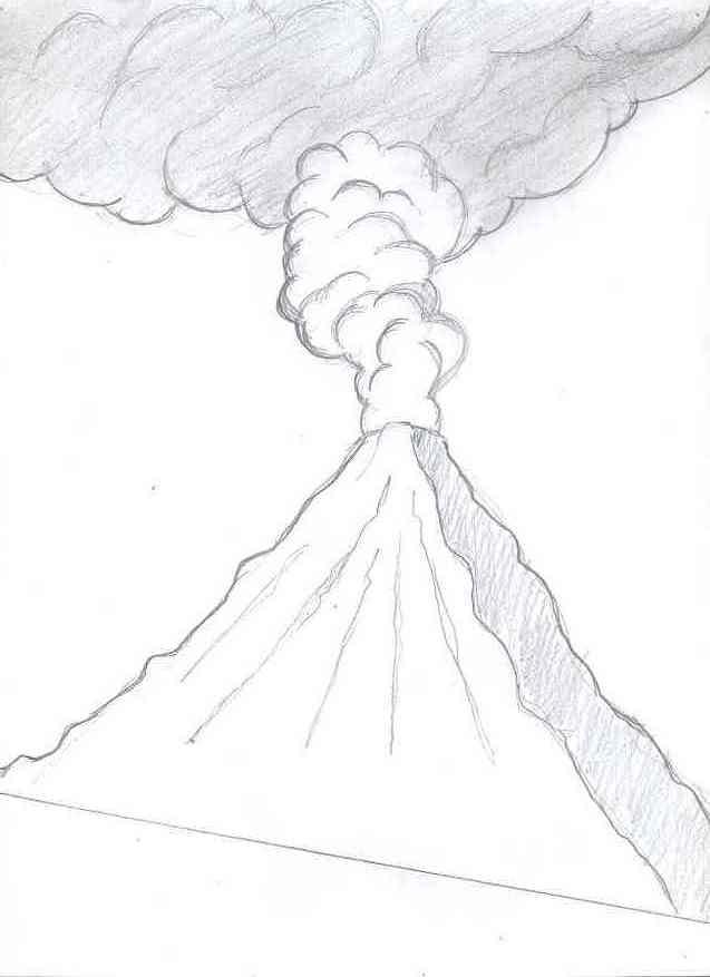 Drawn volcano realistic Volcano & Keywords Suggestions Gallery