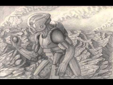Drawn volcano sci fi Fi Skull Drawing Showcase