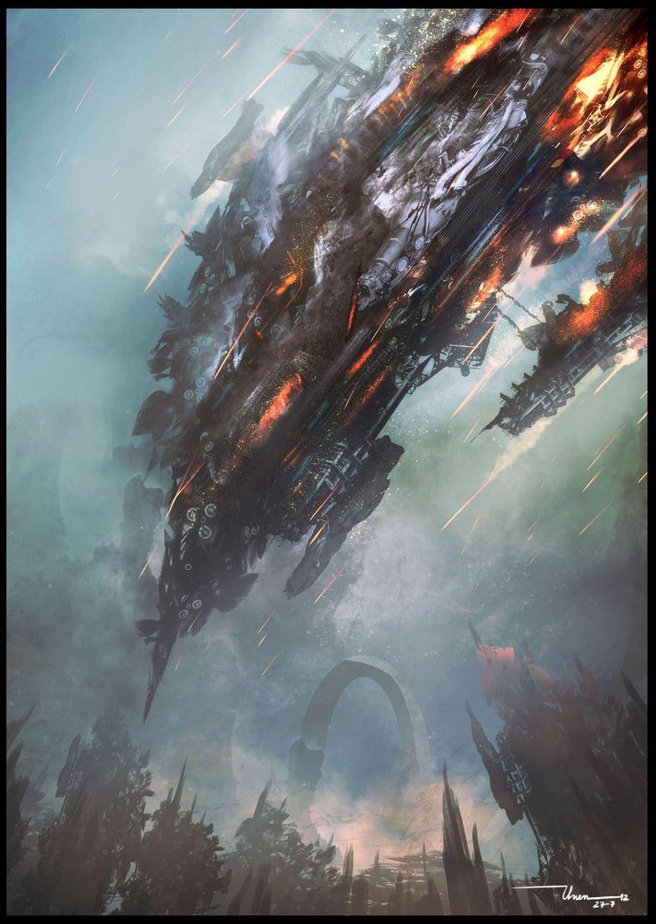 Drawn volcano sci fi 177 best 3601 FI and
