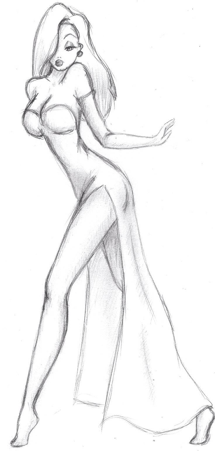 Drawn rabbit jessica rabbit Tutorials Pencil Jessica Rabbit