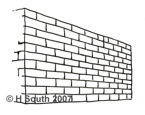 Drawn photos brick wall Drawing Discover Perspective ideas to
